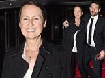 Carol Mcgriffin pictured out with partner Mark Cassidy for the First Time since having treatment for breast cancer. Carol was seen showing off her new dark elfin crop as she attended david guest's charity bash in London. \n\nPictured: Carol Mcgiffin\nRef: SPL1146677  071015  \nPicture by: Splash News\n\nSplash News and Pictures\nLos Angeles: 310-821-2666\nNew York: 212-619-2666\nLondon: 870-934-2666\nphotodesk@splashnews.com\n
