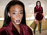 Mandatory Credit: Photo by Nick Harvey/REX Shutterstock (5225689dd)\n Winnie Harlow\n Launch of the #sheinspiresme friendship bracelet at Monica Vinader Flagship Store, London, Britain - 08 Oct 2015\n \n