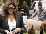 EXC CHEYENNE TOZZI ENJOYS A DOUBLE BAY SHOPPING STOP WITH A FRIEND.\nCHEYENNE POPPED INTO TRENDY DESIGNER BOUTIQUE CHRISTENSEN COPENHAGEN TO PICK UP A FEW ITEMS WITH A FRIEND, BEFORE STOPPING TO CHECK OUT THE MINIATURE PONIES A THE WEEKLY DOUBLE BAY CHILDREN'S PETTING ZOO.\n8 October 2015\n©MEDIA-MODE.COM