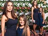 The Bachelor star Snezana Markoski and daughter Eve. photo Dean Smith.JPG