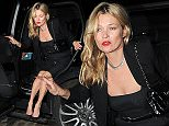 Kate Moss arrives at Chiltern Firehouse with ashes on her dress after attending Sexy Fish - restaurant VIP launch party. London. UK\nFeaturing: Kate Moss\nWhere: London, United Kingdom\nWhen: 09 Oct 2015\nCredit: WENN.com