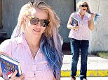 Pictured: Britney Spears\nMandatory Credit © Milton Ventura/Broadimage\n***EXCLUSIVE***\nBritney Spears is all smiles showing off her Mermaid Hair Extensions after lunch whith a friend at Corner Bakery Cafe in Westlake Village\n\n10/7/15, Westlake Village, California, United States of America\n\nBroadimage Newswire\nLos Angeles 1+  (310) 301-1027\nNew York      1+  (646) 827-9134\nsales@broadimage.com\nhttp://www.broadimage.com\n