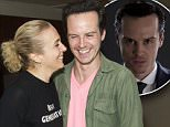 Outside of UK subscription deals\n Mandatory Credit: Photo by Dan Wooller/REX Shutterstock (5225268h)\n Amanda Abbington and Andrew Scott\n 'Teddy Ferrara' play, After Party, London, Britain - 7 Oct 2015\n \n