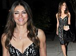 7.OCT.2015 - LONDON - UK\n**EXCLUSIVE ALL ROUND PICTURES**\nACTRESS LIZ HURLEY SHOWS OFF HER CURVES AT A LOW CUT BLACK LACE DRESS AS SHE MAKES HER WAY TO A BOOK LAUNCH AT CHRISTIES!\nBYLINE MUST READ : XPOSUREPHOTOS.COM\n***UK CLIENTS - PICTURES CONTAINING CHILDREN PLEASE PIXELATE FACE PRIOR TO PUBLICATION ***\n**UK CLIENTS MUST CALL PRIOR TO TV OR ONLINE USAGE PLEASE TELEPHONE  44 208 344 2007 ***