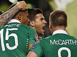 Football - Republic of Ireland v Germany - UEFA Euro 2016 Qualifying Group D - Aviva Stadium, Dublin, Republic of Ireland - 8/10/15  Shane Long celebrates with team mates after scoring the first goal for Republic of Ireland  Action Images via Reuters / Andrew Couldridge  Livepic  EDITORIAL USE ONLY.