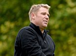 WOBURN, ENGLAND - OCTOBER 07:  Former cricketer Shane Warne during the pro-am event prior to the British Masters at Woburn Golf Club on October 7, 2015 in Woburn, England.  (Photo by Ross Kinnaird/Getty Images)