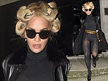 8.OCTOBER.2015 - LONDON - UK\nSINGER AND X FACTOR JUDGE RITA ORA EXITS A HOTEL IN MAYFAIR LONDON. RITA WITH BLONDE HAIR WAS WEARING A BLACK OUTFIT AND A GOLD CHANEL BELT.\nBYLINE MUST READ : EBELE / XPOSUREPHOTOS.COM\n***UK CLIENTS - PICTURES CONTAINING CHILDREN PLEASE PIXELATE FACE PRIOR TO PUBLICATION ***\n**UK CLIENTS MUST CALL PRIOR TO TV OR ONLINE USAGE PLEASE TELEPHONE 44 208 344 2007**