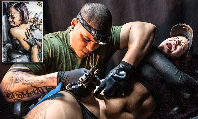 Photographer Anne Burlock Lawver shows what it's like to get a tattoo in a New York City