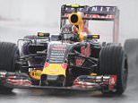 Infiniti Red Bull Racing's Russian driver Daniil Kvyat drives his car during the second practice session of the Russian Formula One Grand Prix at the Sochi Autodrom circuit on October 9, 2015. AFP PHOTO / ALEXANDER NEMENOVALEXANDER NEMENOV/AFP/Getty Images