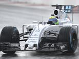 Williams Martini Racing's Brazilian driver Felipe Massa drives his car during the second practice session of the Russian Formula One Grand Prix at the Sochi Autodrom circuit on October 9, 2015. AFP PHOTO / ALEXANDER NEMENOVALEXANDER NEMENOV/AFP/Getty Images
