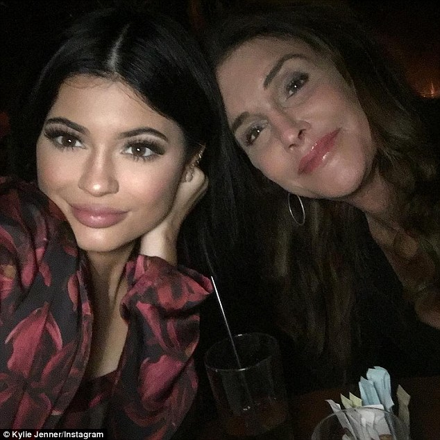 Fancy seeing you here! Out on a date night with boyfriend Tyga, Kylie Jenner bumped into her father Caitlyn Jenner and older sister Kourtney Kardashian as they dined at Nobu restaurant on Thursday night