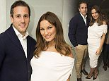 jkpics - sam faiers and paul knightely at new perfume pure and fake tan glow launch at the me hotel with family and friends
