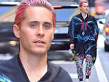 eURN: AD*183952930  Headline: Celebrity Sightings In New York City - October 08, 2015 Caption: NEW YORK, NY - OCTOBER 08:  Jared Leto seen in SoHo on October 8, 2015 in New York City.  (Photo by Robert Kamau/GC Images) Photographer: Robert Kamau  Loaded on 08/10/2015 at 22:08 Copyright:  Provider: GC Images  Properties: RGB JPEG Image (14107K 1760K 8:1) 1605w x 3000h at 300 x 300 dpi  Routing: DM News : GroupFeeds (Comms), GeneralFeed (Miscellaneous) DM Showbiz : SHOWBIZ (Miscellaneous) DM Online : Online Previews (Miscellaneous), CMS Out (Miscellaneous)  Parking:
