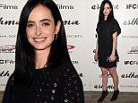 """NEW YORK, NY - OCTOBER 08:  Actress Krysten Ritter attends a screening of IFC Films' """"Asthma"""" hosted by The Cinema Society and Northwest at Roxy Hotel on October 8, 2015 in New York City.  (Photo by Jamie McCarthy/Getty Images)"""