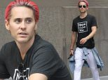 Picture Shows: Jared Leto  October 09, 2015\n \n Musician and actor Jared Leto spotted out and about in New York City, New York.  He just wrapped up filming for the new movie he is starring in 'Suicide Squad' as The Joker.\n \n Non-Exclusive\n UK RIGHTS ONLY\n \n Pictures by : FameFlynet UK © 2015\n Tel : +44 (0)20 3551 5049\n Email : info@fameflynet.uk.com