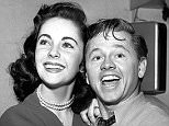 British-born teenaged actress Elizabeth Taylor dances backstage with American actor Mickey Rooney, Los Angeles, California, February 3, 1947. (Photo by CBS Photo Archive/Getty Images)