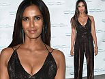 Mandatory Credit: Photo by MediaPunch/REX Shutterstock (5225735a)\n Padma Lakshmi\n Friend's of Hudson River Park Gala, New York, America - 08 Oct 2015\n \n