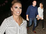 Picture Shows: Kieran Hayler, Katie Price  October 09, 2015    Katie Price and her husband Kieran Hayler spotted outside Pure bar in Bexleyheath for the nightclub's 6th birthday party. The English TV personality and glamour model was rocking a striped shirt dress paired with black thigh high boots.    Non Exclusive  WORLDWIDE RIGHTS    Pictures by : FameFlynet UK � 2015  Tel : +44 (0)20 3551 5049  Email : info@fameflynet.uk.com