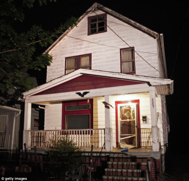 Free:The phone call made from a neighbor's phone last less than two minutes after Miss Berry escaped the house, pictured