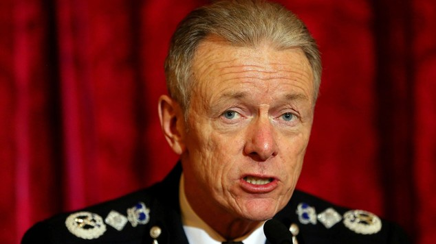 Metropolitan Police commissioner Sir Bernard Hogan-Howe admitted the number was not very memorable