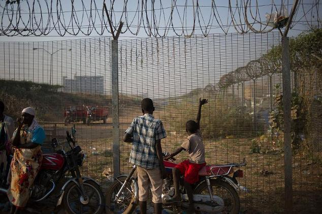 Fighting in South Sudan has forced almost two million people from their homes and 500,000 of them have fled abroad