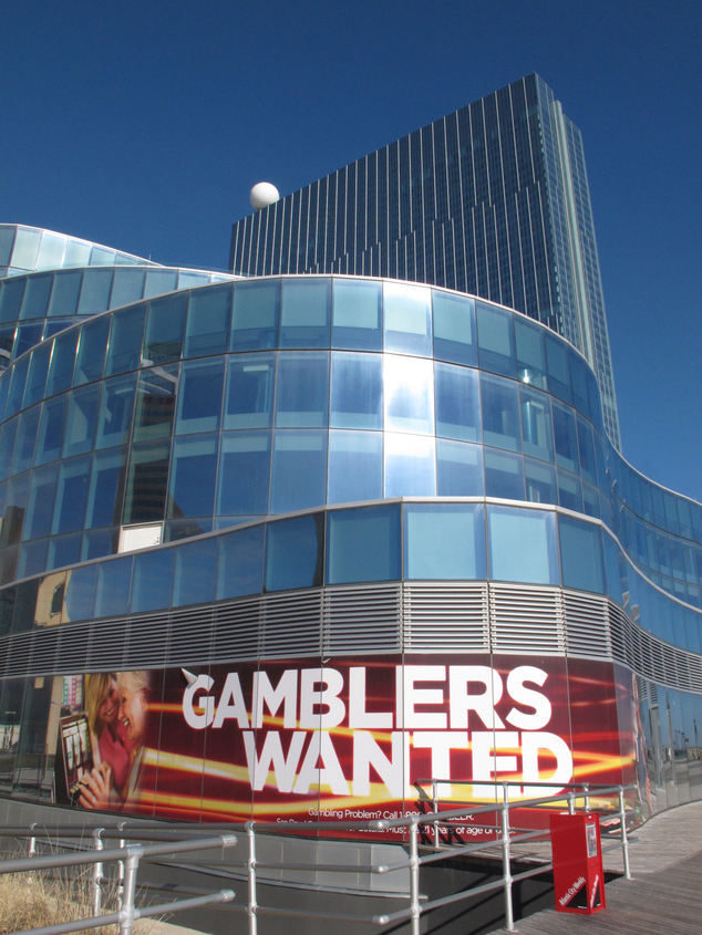This Dec. 27, 2013 photo shows the exterior of Revel Casino Hotel in Atlantic City, N.J. On Tuesday Feb. 10, 2015, the owners of the casino, which shut down ...