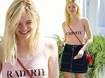 Toluca Lake, CA - Actress Elle Fanning is spotted hanging out in Toluca Lake to have lunch with her grandmother on a beautiful Saturday afternoon. \n  \nAKM-GSI         October 10, 2015\nTo License These Photos, Please Contact :\nSteve Ginsburg\n(310) 505-8447\n(323) 423-9397\nsteve@akmgsi.com\nsales@akmgsi.com\nor\nMaria Buda\n(917) 242-1505\nmbuda@akmgsi.com\nginsburgspalyinc@gmail.com