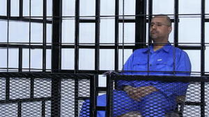 Saif Al-Islam zum Tode verurteilt