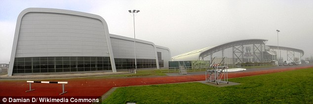 Officers discovered hundreds of pictures of naked children on his computer, which had been secretly taken in changing rooms at Southend Leisure and Tennis Centre (pictured)