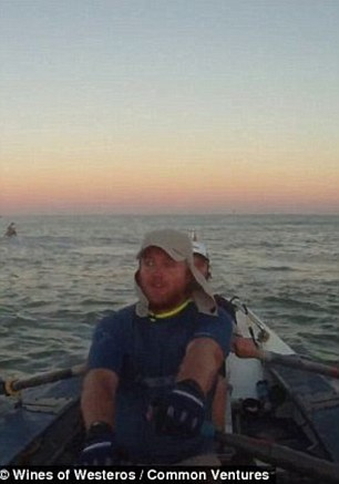 And they're off! Mr Adair and Mr Stenning spent three months practicing on the Thames, before heading to the city of Geraldton, north of Perth, Western Australia. Then, it was time for them to set off on their voyage