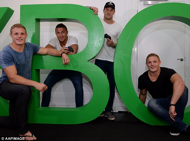 Bros: Luke is the eldest of the Burgess brothers  that includes twins George and Tom and Sam