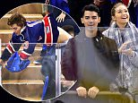 Celebrities attend Columbus Blue Jackets vs New York Rangers game at Madison Square Garden on October 10, 2015 in New York City.\n\nPictured: Gigi Hadid\nRef: SPL1149106  101015  \nPicture by: JD Images / Splash News\n\nSplash News and Pictures\nLos Angeles: 310-821-2666\nNew York: 212-619-2666\nLondon: 870-934-2666\nphotodesk@splashnews.com\n