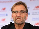 9th October 2015 - Liverpool Press Conference - Jurgen Klopp speaks during a press conference after being unveiled as the new manager of Liverpool - Photo: Simon Stacpoole / Offside.
