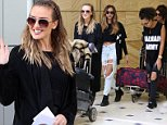 12 OCTOBER 2015 SYDNEY \nAUSTRALIA\nEXCLUSIVE PICTURES\nLittle Mix pictured on arrival into Sydney. The all girl group including Perrie Edwards, Jesy Nelson, Jade Thirwall and Leigh-Anne Pinnock landed in Sydney ahead of a performance on X factor. \n*ALL WEB USE MUST BE CLEARED*\nPlease contact prior to use:  \n+61 2 9211-1088 or email images@matrixmediagroup.com.au \nNote: All editorial images subject to the following: For editorial use only. Additional clearance required for commercial, wireless, internet or promotional use.Images may not be altered or modified. Matrix Media Group makes no representations or warranties regarding names, trademarks or logos appearing in the images.\n