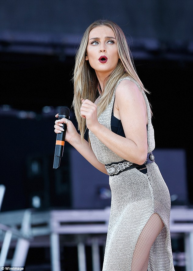 How Ya Doin? Perrie Edwards was rumoured to have been secretly dating former TOWIE star Joey Essex, but her representative denied the claims