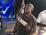 Kanye West on American Idol