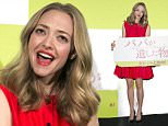 Mandatory Credit: Photo by Aflo/REX Shutterstock (5226473l)\n Amanda Seyfried\n 'Fathers and Daughters' film stage greeting in Tokyo, Japan - 11 Oct 2015\n \n