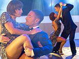 EDITORIAL USE ONLY. NO MERCHANDISING  Mandatory Credit: Photo by Ken McKay/ITV/REX Shutterstock (5225968bz)  Vincent Simone and Flavia Cacace  'This Morning' TV Programme, London, Britain - 09 Oct 2015  VINCENT & FLAVIA: CHAT & PERFORMANCE -  Former-Strictly superstars Vincent Simone and Flavia Cacace who are on currently on a mammoth UK tour with their final theatre show ?The Last Tango?.  They join us to talk about their show and their plans for the future.  They?ll also be performing a passionate Tango live.