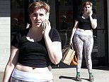 143531, EXCLUSIVE: Lena Dunham spotted leaving the gym in snake print leggings in LA. Los Angeles, California - Friday October 9, 2015. Photograph: Sam Sharma/JS, © PacificCoastNews. Los Angeles Office: +1 310.822.0419 sales@pacificcoastnews.com FEE MUST BE AGREED PRIOR TO USAGE