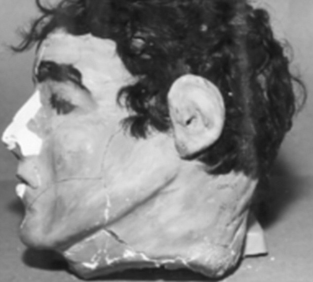 The escapees left paper-mache (pictured) heads with their own hair attached in their beds to make it appear that they were tucked up in bed