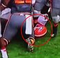 Watch here as a Tennessee player appears to purposefully step on a UGA player's head after a kickoff return. The Vols player appears to be freshman John Kelly, and the UGA player on the ground is junior linebacker Chuks Amaechi.  Tennessee went on to beat Georgia 38-31.
