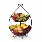 2 and 3 tier fruit basket
