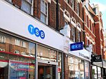 A general view of the new style TSB bank. TSB has refurbished a branch to look new and inviting to customers. The newly fitted shop is just meters up the road from another branch with the old style fit and Bank Manager Francesca Bell takes Holly Black around both branches to see the differences.