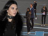 EXCLUSIVE ***NO ONLINE SALES WITHOUT PRIOR APPROVAL*** Cara Delevingne continued spending time with close friend Kendall Jenner on Saturday. The pair arrived back at Cara's hotel just before 1am this morning, Kendall left in the early afternoon for a photo shoot, leaving Cara alone. At 5.30pm, Cara left her hotel with sister Poppy and they met Kendall at Battersea Helipad, where the three got on a helicopter. Cara could be seen making an offensive gesture through the window, as the helicopter took off\n10 October 2015.\nPlease byline: Will/Palace Lee/Vantagenews.com
