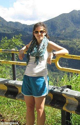 Megan Andrew-Sharer was set to board a flight to Switzerland to go work on a farm