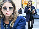 Ashley Benson spotted sitting on a bench at Central Park while taking selfies and sips into her coffee in New York City\n\nPictured: Ashley Benson\nRef: SPL1149198  111015  \nPicture by: Felipe Ramales / Splash News\n\nSplash News and Pictures\nLos Angeles: 310-821-2666\nNew York: 212-619-2666\nLondon: 870-934-2666\nphotodesk@splashnews.com\n