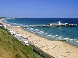 Bournemouth?s beautiful beach and pier
