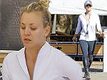 Picture Shows: Kaley Cuoco  October 10, 2015    'The Big Bang Theory' actress Kaley Cuoco chatting up with a friend after horseback riding in Los Angeles, California.     Kaley and husband Ryan Sweeting announced recently that they have mutually agreed to get a divorce after 21 months of marriage and Kaley has already removed her wedding ring.     Exclusive - All Round  UK RIGHTS ONLY    Pictures by : FameFlynet UK � 2015  Tel : +44 (0)20 3551 5049  Email : info@fameflynet.uk.com