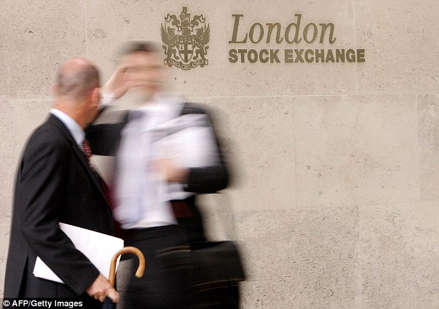 Up: Shares in the LSE have shot up by more than 50 per cent in the past year