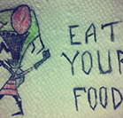 Parents funny notes in children's lunches